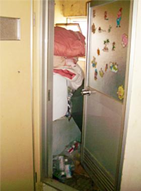 浴室 before